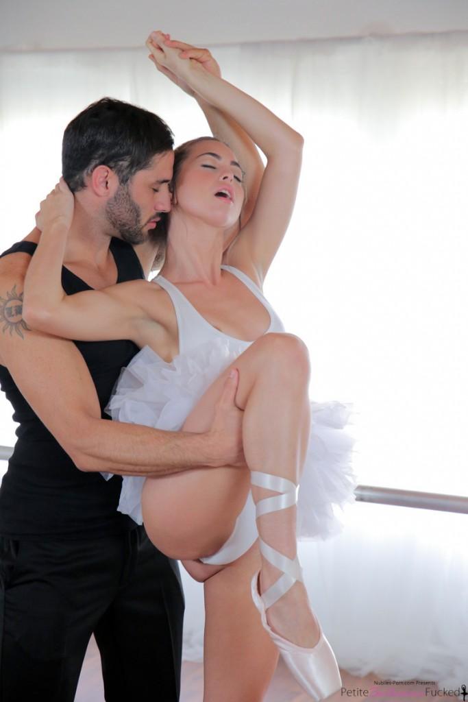 3 slutty ballerinas get fucked by instructor 8